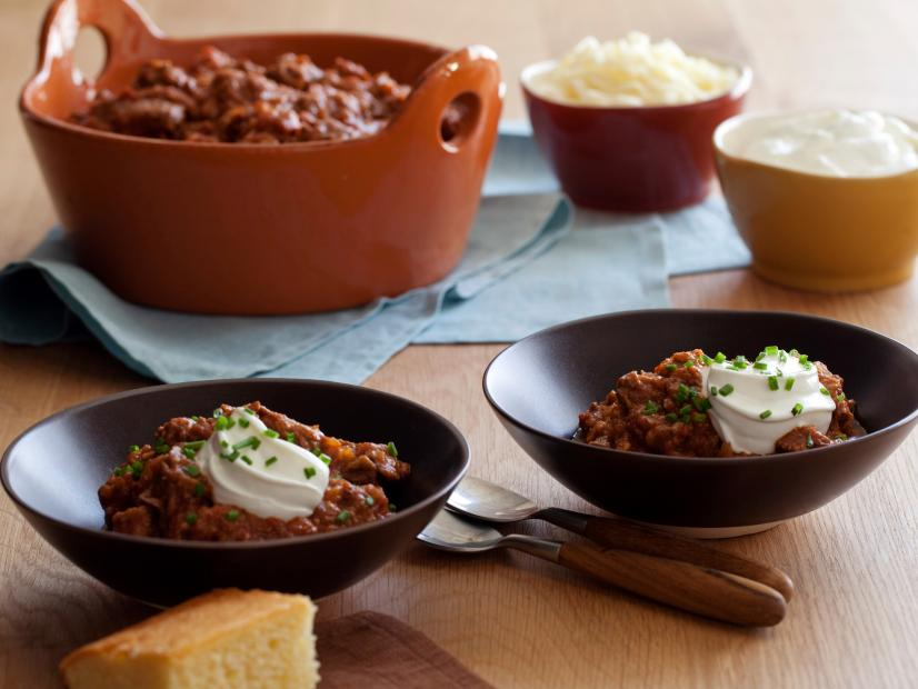 Beef Chili Recipe Tyler Florence Food Network