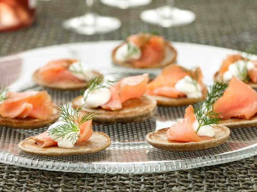 Blini with smoked salmon recipe ina garten food network watch forumfinder Gallery