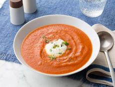 Use September as an opportunity to finish the last of your summer tomatoes by blending them into these comforting and autumnal tomato soups.