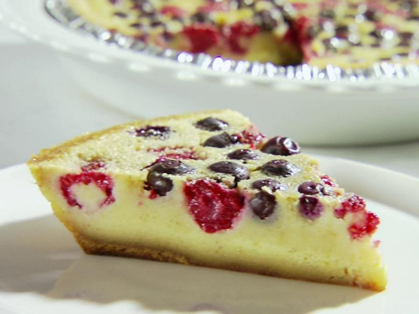 Berry Custard Pie Recipe Sandra Lee Food Network