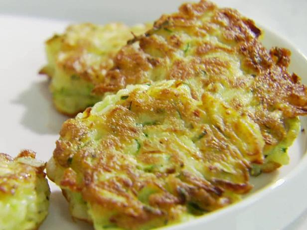 Zucchini cakes recipe sandra lee food network zucchini cakes forumfinder Choice Image
