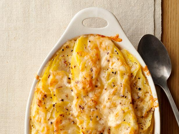 Food Network Magazine's Simple Scalloped Potatoes