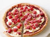 Raspberry-Almond Pizza