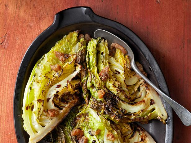 Crisp Roasted Cabbage Recipe Food Network Kitchen Food Network