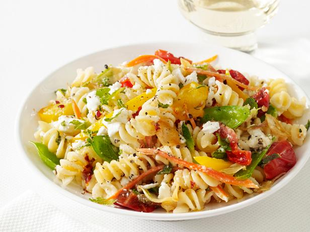 Pasta primavera recipe food network kitchen food network pasta primavera forumfinder Images