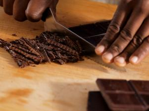 Chop Chocolate Into Uniform Pieces For Melting