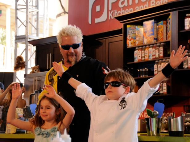 guy fieri cooking with kids