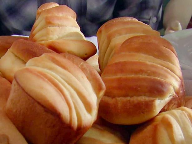 butter flake rolls recipe alton brown food network