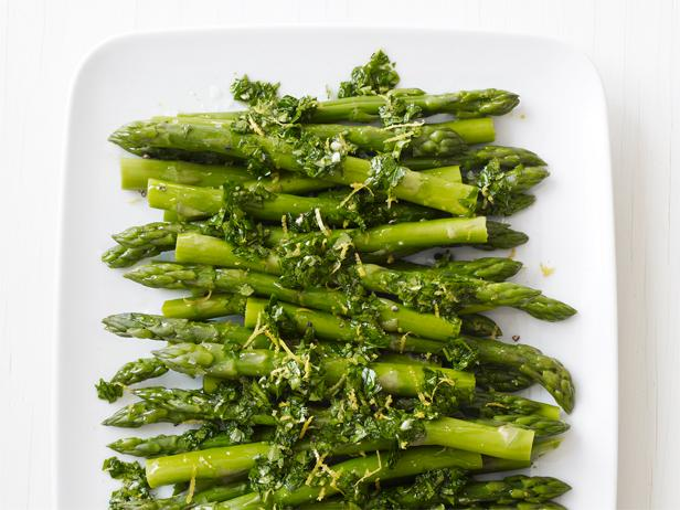 Lemon-Parsley Asparagus