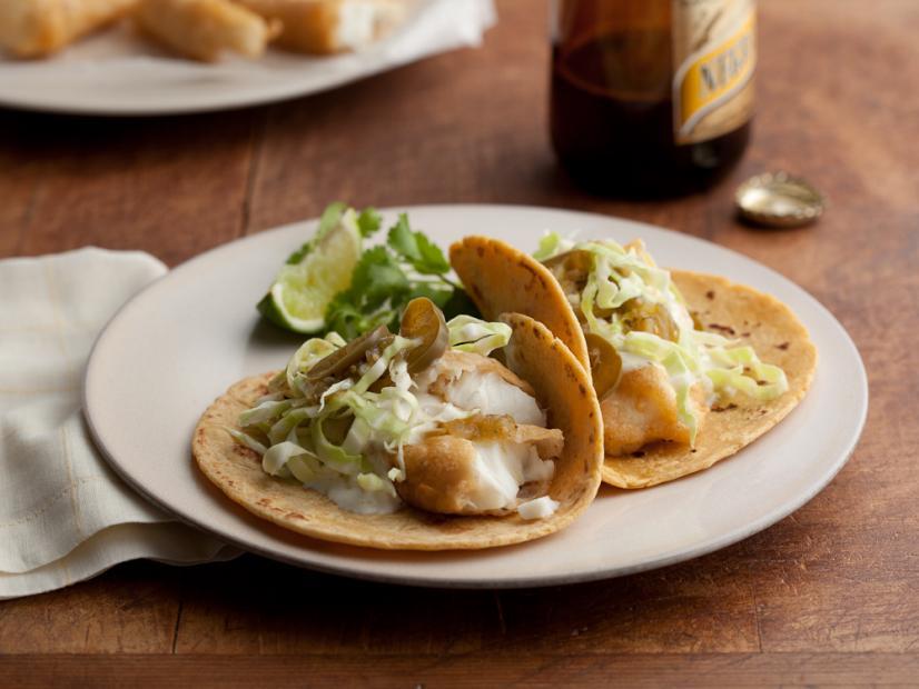 Baja Style Fish Tacos Recipe | Marcela Valladolid | Food Network