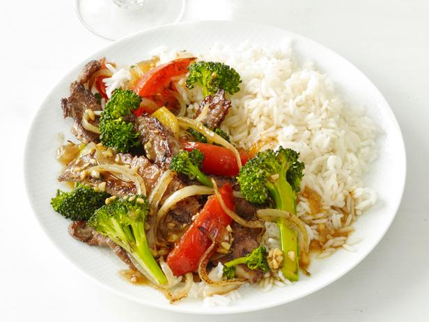 Chinese food recipes food network food network chinese beef with broccoli forumfinder Image collections