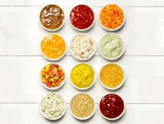 <br> <br> Dress up burgers, hot dogs and more with fun and fast toppings from Food Network Magazine.