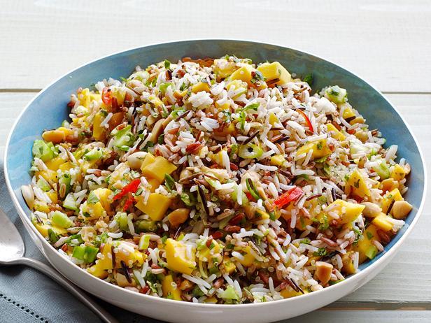 Mango cucumber rice salad recipe food network kitchen food network mango cucumber rice salad forumfinder Gallery