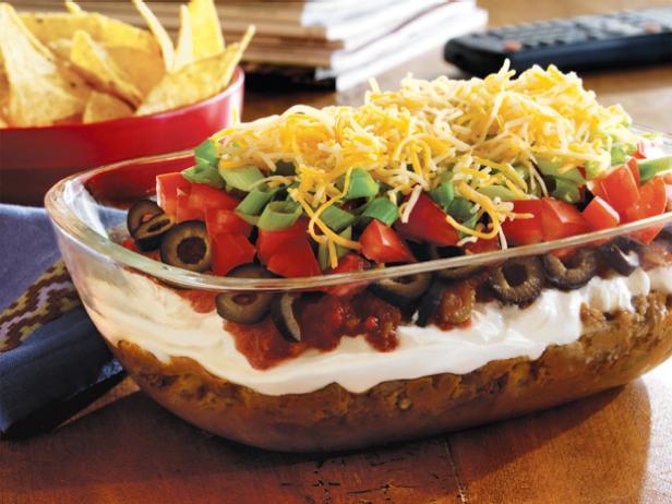 7-Layer Taco Dip Recipe | Food Network