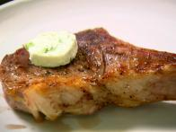 Veal Chops with Roquefort Butter