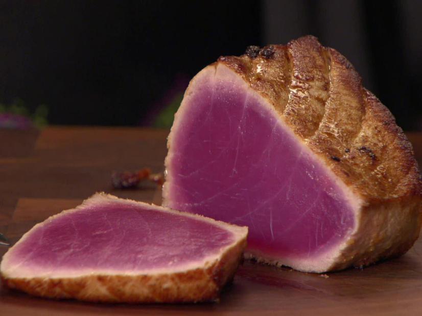 Marinated Seared Tuna Recipe Anne Burrell Food Network