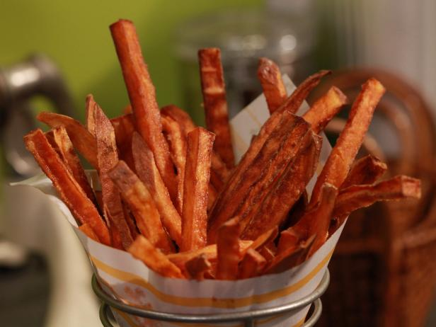 Baked Sweet Potato Fries Recipe Ina Garten Food Network