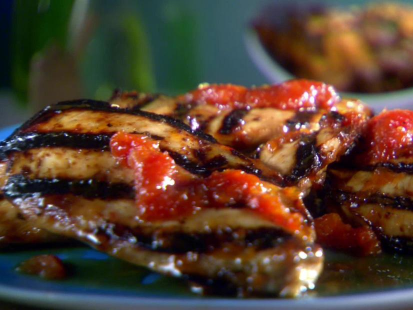 Grapefruit Grilled Chicken Recipe Sunny Anderson Food Network