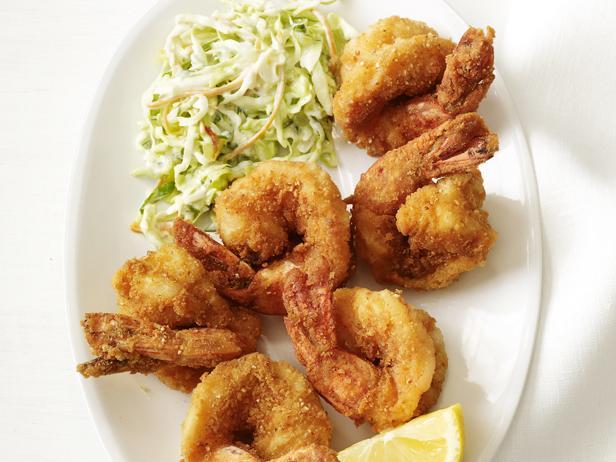 Fried Shrimp With Tartar Slaw