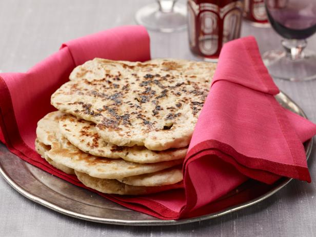 Naan indian oven baked flat bread recipe aarti sequeira food naan indian oven baked flat bread forumfinder