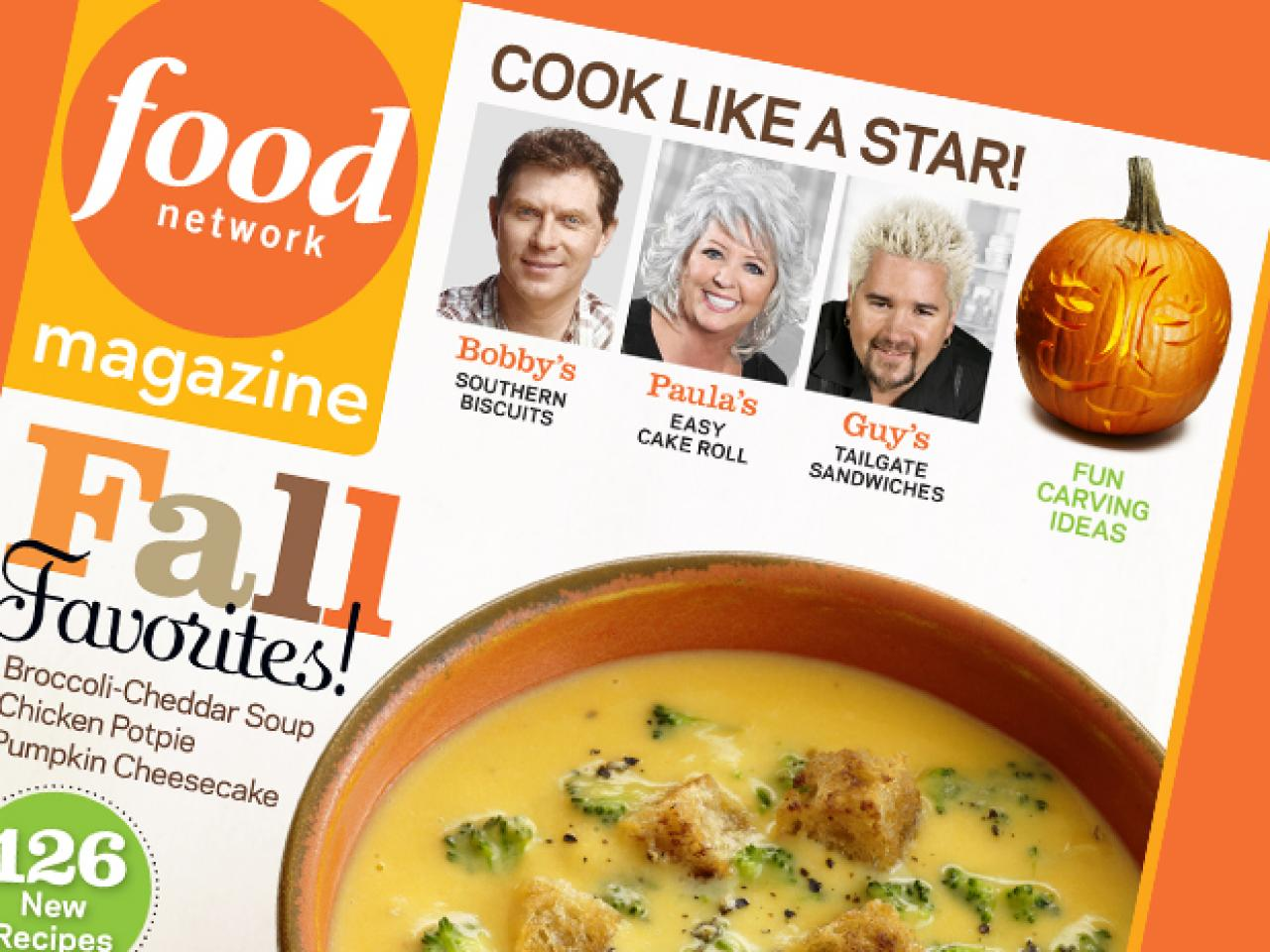 food network magazine october 2011 recipe index recipes and