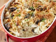 Chicken Tetrazzini Casserole with Cauliflower