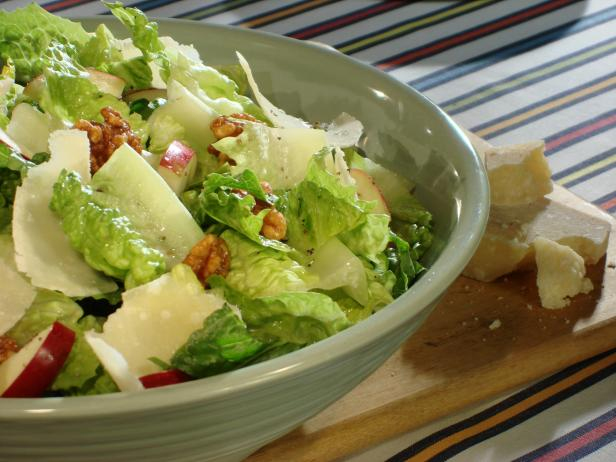 Parmesan and Candied Walnut Salad