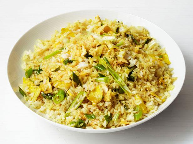 Curry fried rice recipe food network kitchen food network curry fried rice forumfinder Images