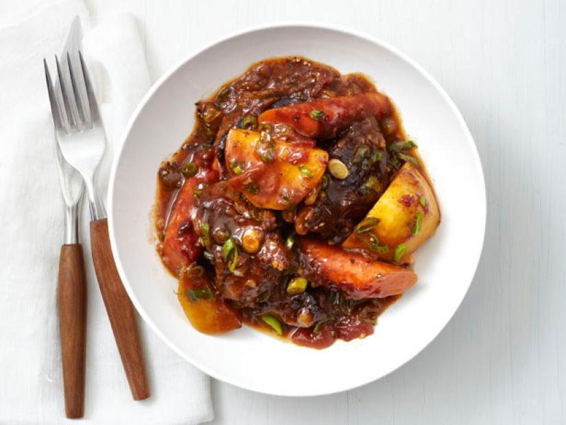Slow Cooker Caribbean Beef Stew Recipe Food Network Kitchen Food