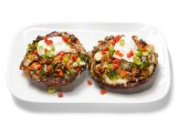 Cheese and Chile-Stuffed Mushrooms