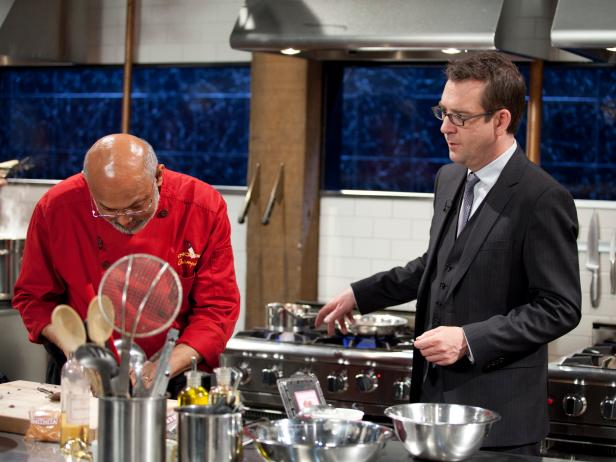 Chef Walter D'Rozario - Chopped Champions Round 2