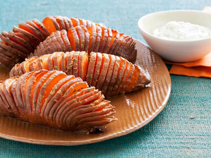 Hasselback Sweet Potatoes Recipe Food Network Kitchen Food Network