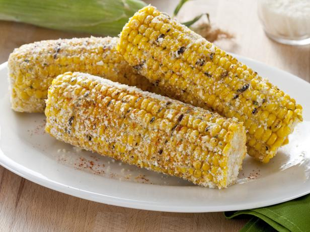 Spicy Parmesan Herb Corn on the Cob