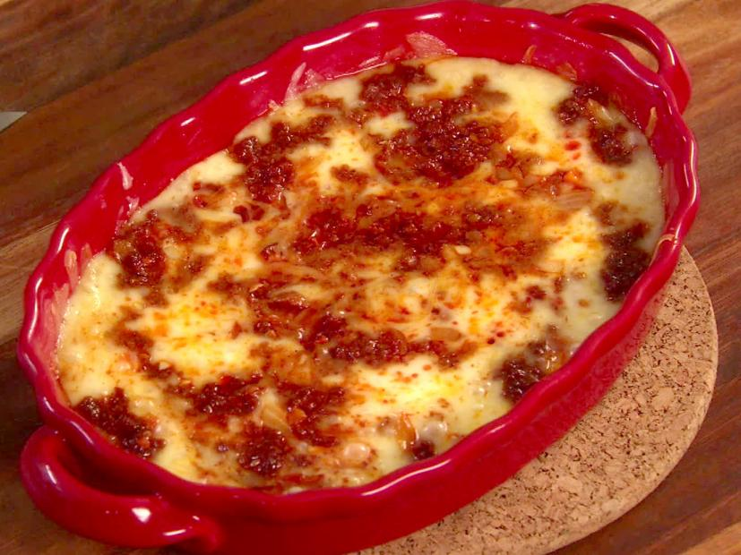 Baked Cheese with Chorizo Recipe - Marcela Valladolid - Food Network
