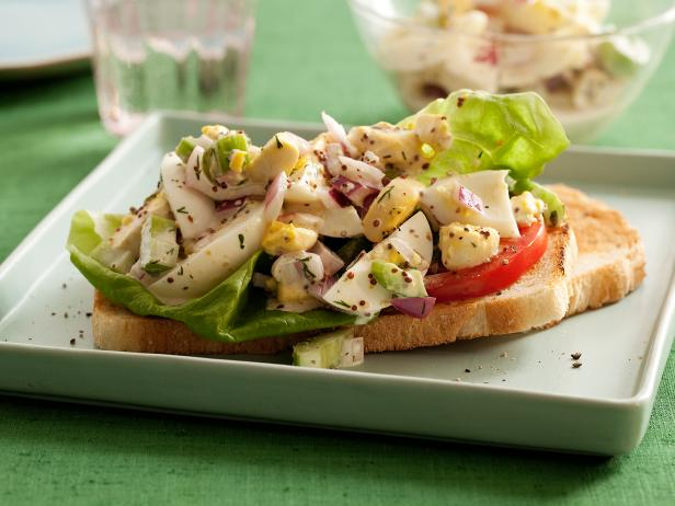 Chunky egg salad recipe food network kitchen food network chunky egg salad forumfinder Images