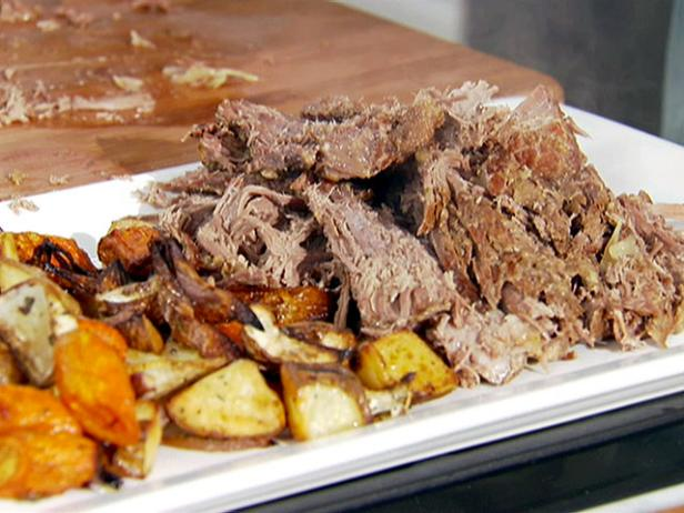 Pot Roast with Roasted Root Vegetables