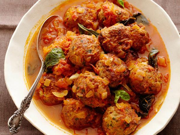 Pork Meatballs Recipe Alex Guarnaschelli Food Network