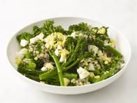 Broccolini With Hard-Boiled Egg