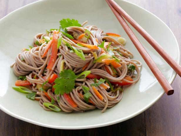 Vegetarian recipes food network food network buckwheat noodle salad forumfinder Gallery