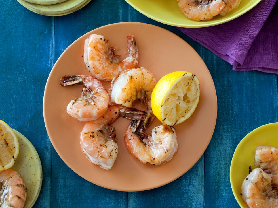 Amazing grilled appetizers food network summer party ideas bobbys grilled shrimp skewers with cilantro mint chutney forumfinder Choice Image