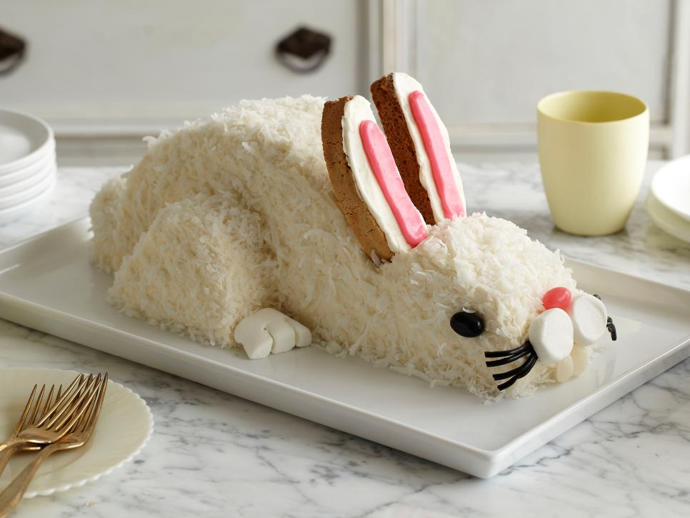 Easter bunny cake how to recipes dinners and easy meal ideas ready to hop forumfinder Images