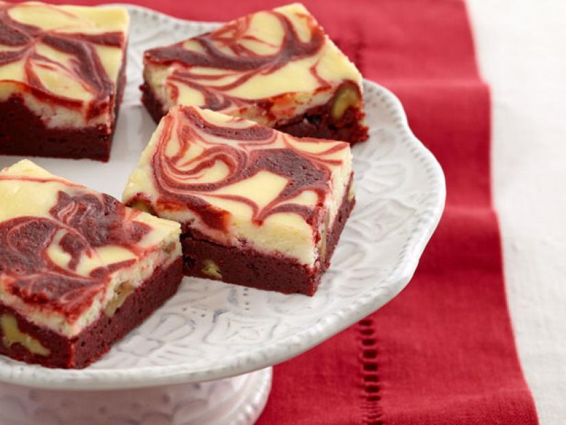 Red Velvet Swirl Brownies Recipe Sunny Anderson Food