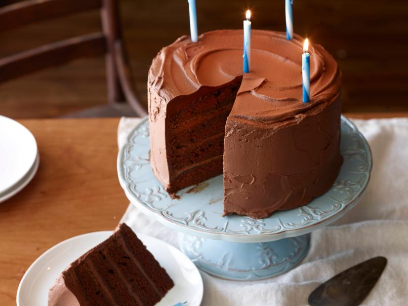 Big Chocolate Birthday Cake