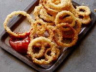 Oven Fried Onion Rings