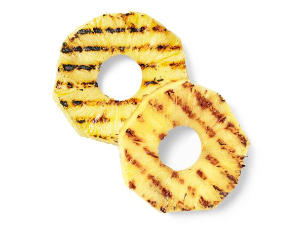 Charred Pineapple Rings