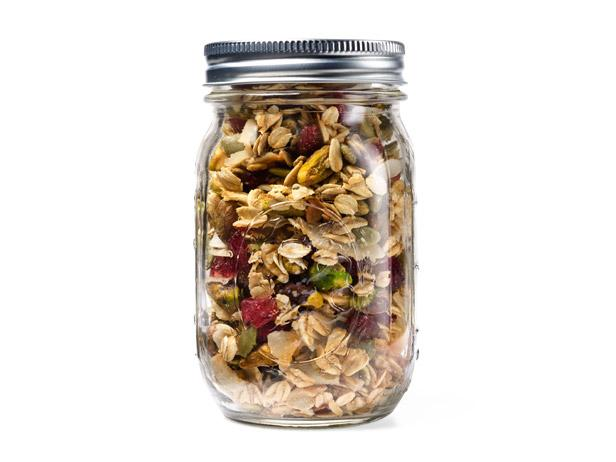 Coconut Sour-Cherry Granola