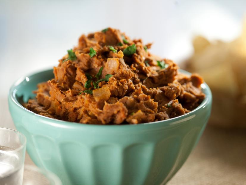 Chorizo Refried Beans Recipe Marcela Valladolid Food Network