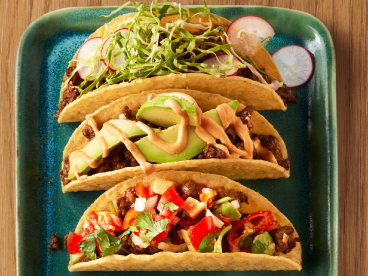 Make it 5 ways tacos recipes and cooking food network recipes 50 taco recipes for dinner tonight forumfinder Choice Image