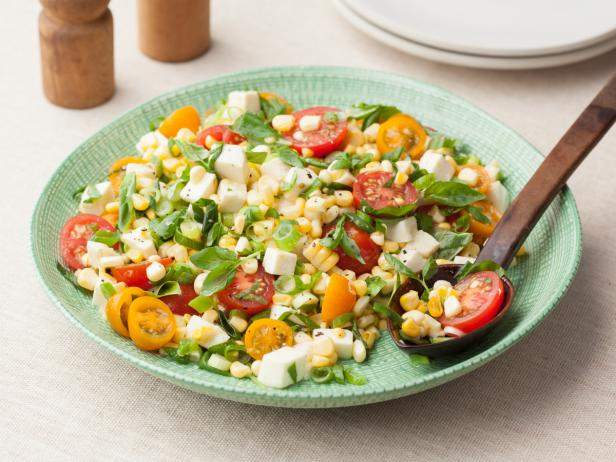 Fresh Corn Tomato Salad