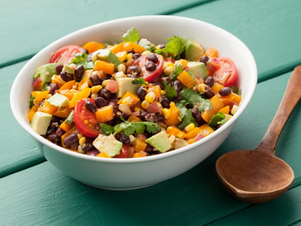 Black bean salad recipe food network kitchen food network black bean salad forumfinder